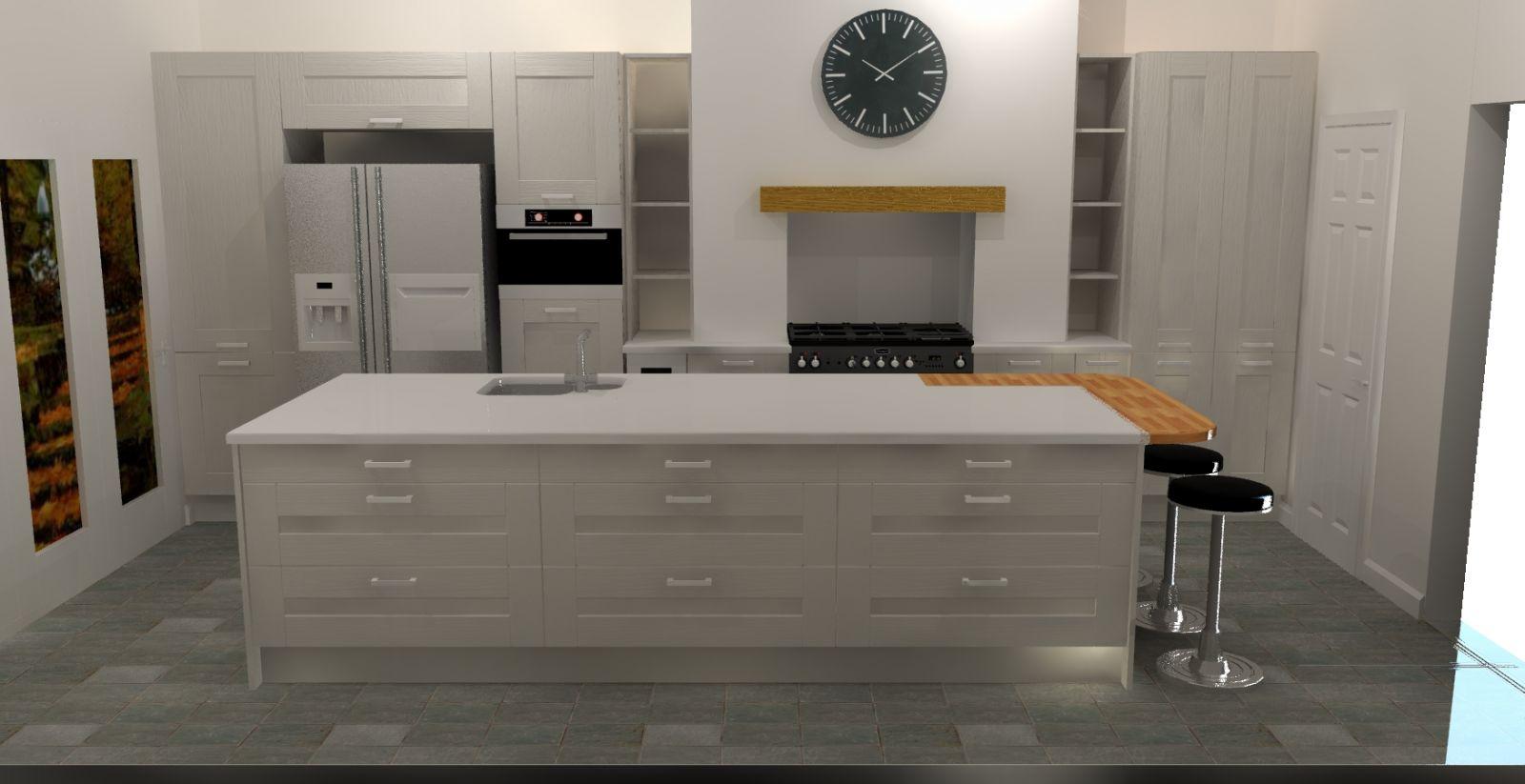 Iona Painted Kitchen Units And Doors Rigid Built Kitchens Kitchen Stori Ebay