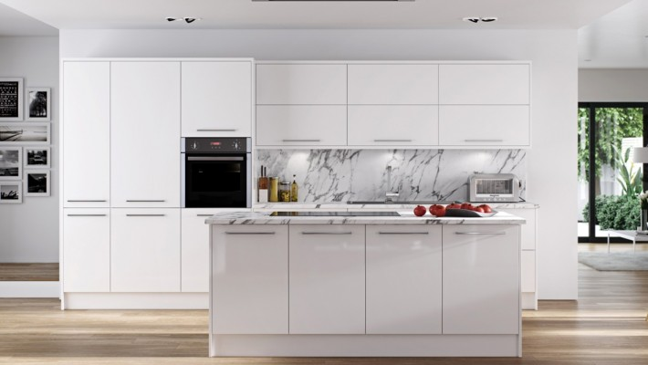 Hamledown High Gloss Kitchen