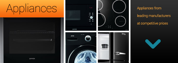 Appliances department | CK Kitchens