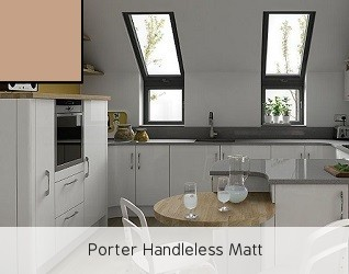 Porter Handleless Matt