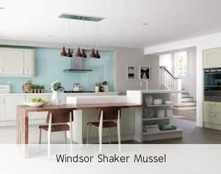 Windsor Shaker Mussel