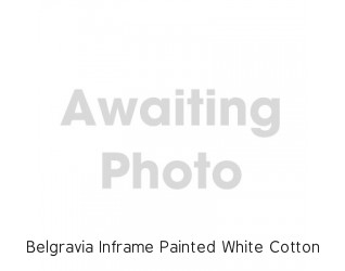 Belgravia Inframe Painted White Cotton