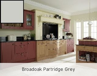 Broadoak Partridge Grey