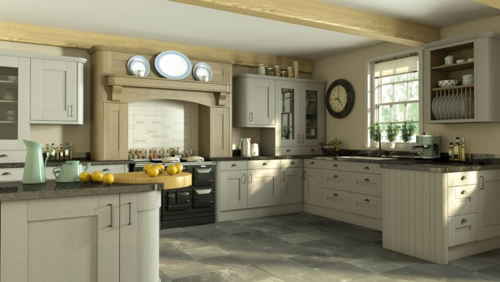 Wilton Darak Shaker Kitchen