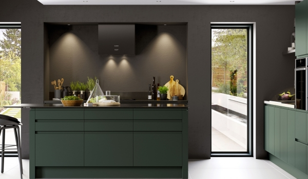 Strada Matt Handlesless Paint to Order - Kitchen Stori