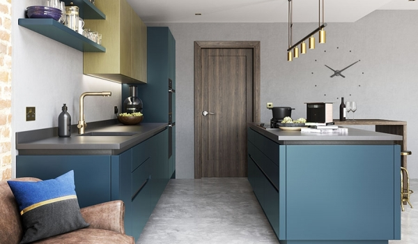 Zola Matt Handleless Paint to Order - Kitchen Stori