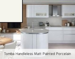 Tomba Handleless Matt Painted