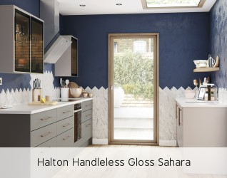 Halton Handleless Gloss